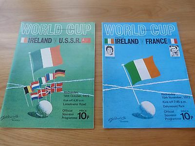 Republic of Ireland World Cup Qualifyers 1972 (2)