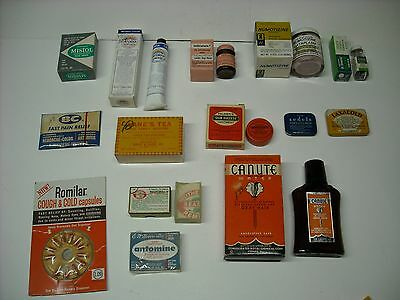 Drug Store Medicine Unopened  Apothecary Pharmacy All Different Laxative +