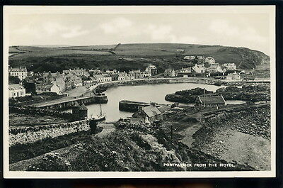 RP Postcard - Portpatrick from the Hotel, Dumfriesshire, Scotland.