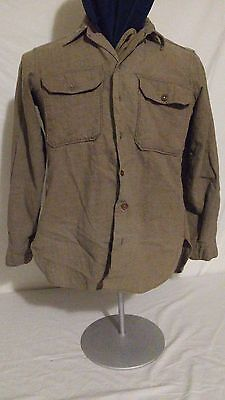 WW2 WWII Canadian American Wool Service Shirt