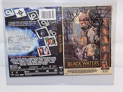 The Black Waters of Echoes Pond Hand Signed Danielle Harris James Duval