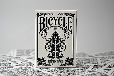New Bicycle Playing Cards *nautic Back* Genuine Sealed White Qty:1 Pack. Uspcc.