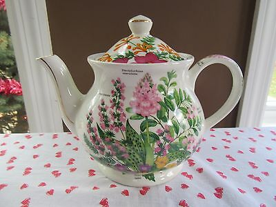 SADLER ENGLAND BOTANTICAL TEAPOT Mixed Bouquet - Viola