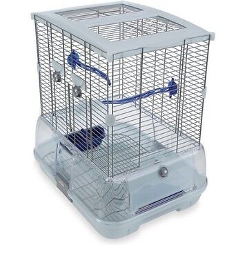 Parakeet Bird Cage - Birds Cages, Comes with Perch Food Water Cup Bowl, Pet NEW
