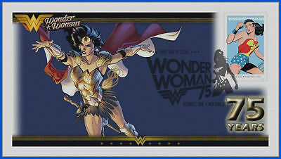Wonder Woman...  DC Comics... First Day Cover 2016 #022