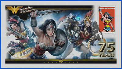 Wonder Woman...  DC Comics... First Day Cover 2016 Set #2 #041