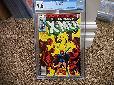X-Men 134 cgc 9.6 Marvel 1980 1st appearance of Dark Phoenix Uncanny WHITE page