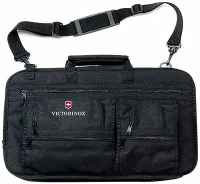 Victorinox Executive Knife Case for 12 Knives, Black...NEW