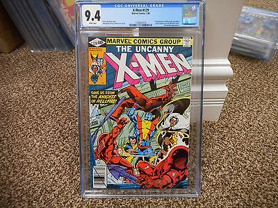 X-Men 129 cgc 9.4 1st appearance Kitty Pryde 1st White Queen Emma Frost Uncanny