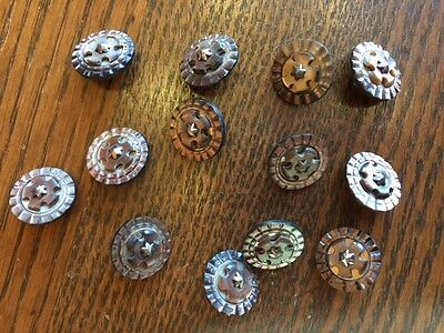 Great Lot of 300 Orig Ornate Antique Clothing Victorian Buttons