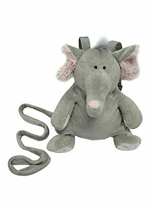 Animal Planet 2 in 1 Harness Backpack, Elephant, Grey, Child Leash, Baby W...NEW
