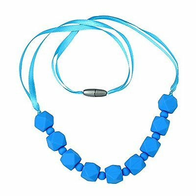 ComfyBaby Beads 'Chunky Monkey' Silicone Teething Necklace BPA Free - Chun...NEW