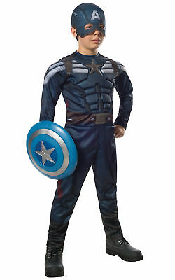 Captain America Muscle Avengers Winter Soldier Stealth Superheroes Boys Costume