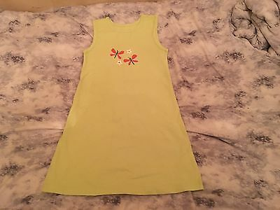 Children Kids Girls Light Green Summer  Dress Marks And Spencer's Age 6-7 Years