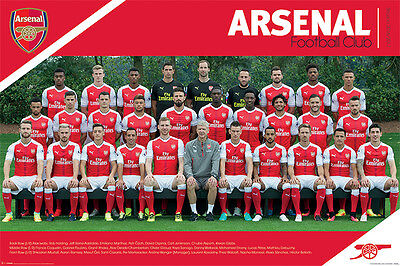 Arsenal FC Poster - Team 16/17 - New Arsenal Football poster PP34045
