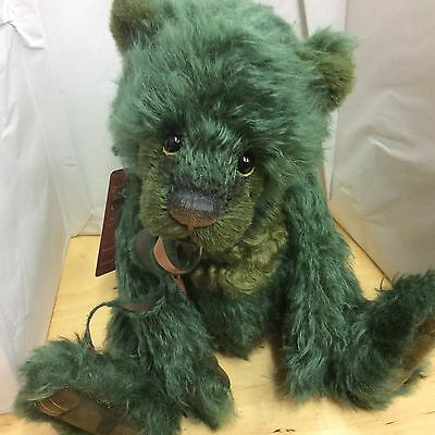 Charlie Bears Jitterbug Mohair Jointed Bear  L/e 400 New For 2016 Collection