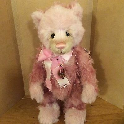 Charlie Bears Gladrags 17.5 Inch Standing Jointed Mohair/alpaca Bear 99/500