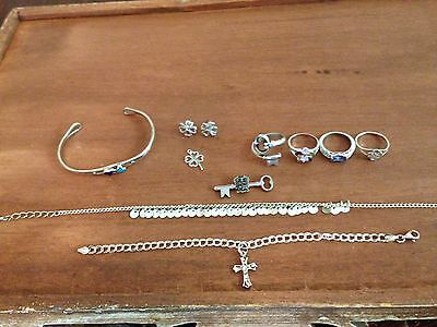 Stirling Silver 11pc Lot