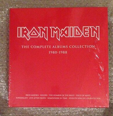 IRON MAIDEN The Complete Albums Collection 1980-1988 LIMITED 8 LP 180g BOX SET