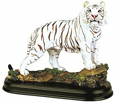StealStreet SS-G-19718 White Tiger Collectible Wild Cat Animal Decoration ...NEW