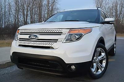 2014 Ford Explorer Limited Sport Utility 4-Door 2014 Ford Explorer Limited Sport Utility 4-Door 3.5L (( REBUILT))