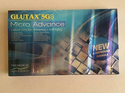 GLUTAX 5GS MICRO ADVANCE 18PCS -Now with- ANTI-AG  (Authentic) Top Selling !