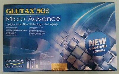 GLUTAX 5GS MICRO ADVANCE 36PCS - (Authentic- With serial number check)