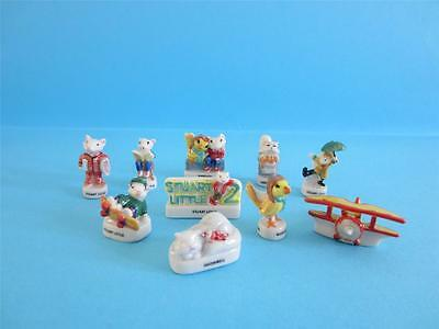Retired Miniature Porcelain, The Stuart Little Mouse Collection 2002 Very  Rare