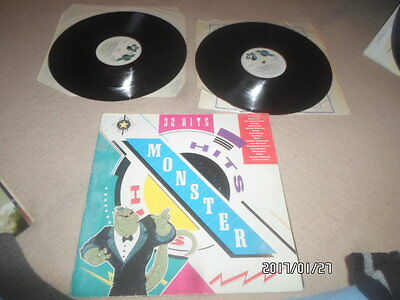 a lp vinyl record double album monster hits 1989