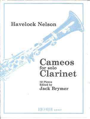 CAMEOS FOR SOLO CLARINET by HAVELOCK NELSON