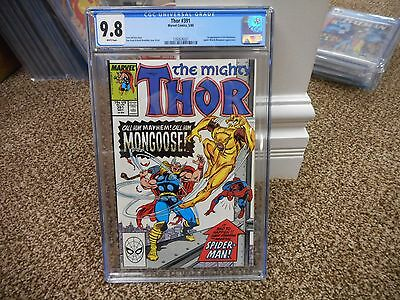 Thor 391 cgc 9.8 1st appearance of Eric Masterson becomes Thunderstrike Marvel