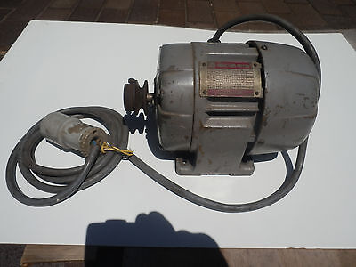 Electric induction motor 3 Phase 1/2 HP, 0.4kW