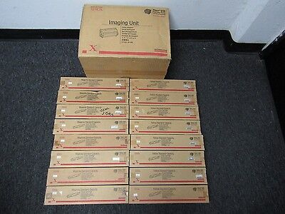 17 Genuine Xerox Phaser 6250 Imaging Unit Toner Cartridges MY Standard Yield