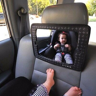 NEW JJ Cole 2-in-1 Car Back Seat Baby Mirror FREE SHIPPING