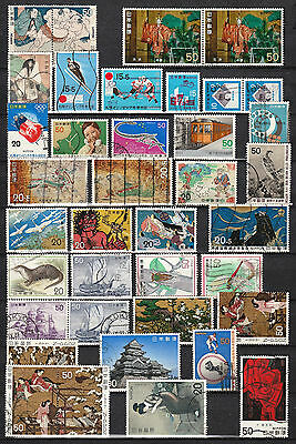 JAPAN 1971-1979   Selection of Commemorative Stamps