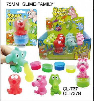 Hot Slime Family Suckers Sensory Fidget Toys Autism Stress Relief Funny Toys