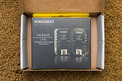 Yongnuo YN-622N Wireless i-TTL Flash Trigger Transceivers for Nikon (2)