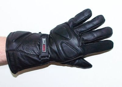 Men's Motorcycle ATV  Leather Thinsulate Gloves Gauntlets NEW- CANADIAN SELLER