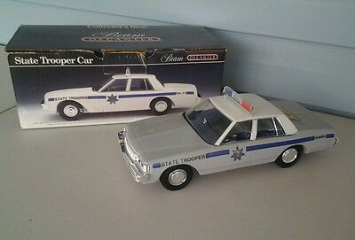Jim Beam's State Trooper Car Decanter  - Empty With Box
