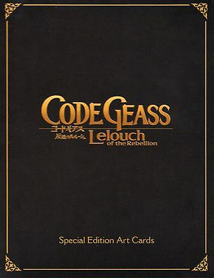 Code Geass: Lelouch Of The Rebellion – 16 Special Edition Art Cards – Brand New