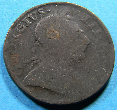USA Colonial 1777 Great Britain 1/2 Penny