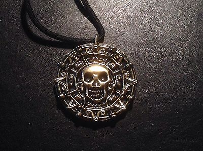 Pirates Of The Caribbean Cursed Coin Necklace Movie Prop Replica