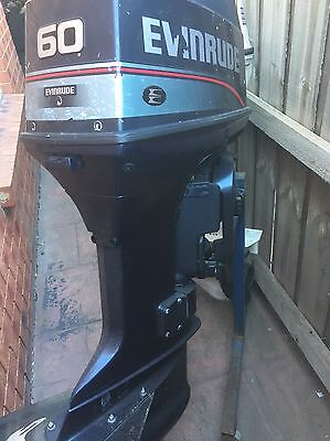 60HP Evinrude/Johnson OUTBOARD MOTOR (Will Freight Australia Wide.)