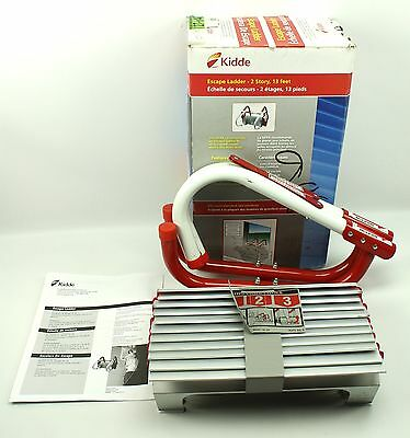 Kiddie Escape Ladder - 2 Story , 13 Feet - One Time Use KL-2S 468093
