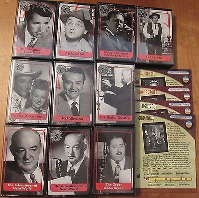 The World's Greatest Old Time Radio Shows 10 cassette tapes 10 hours of fun
