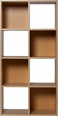 HOME Squares 8 Cube Unit - Beech Effect - V000904