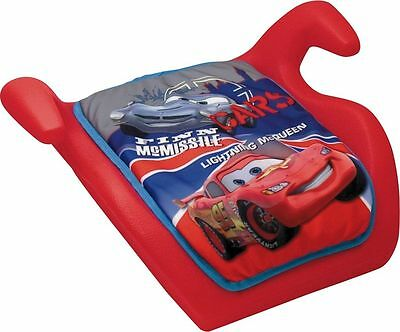 Disney World of Cars Booster Seat -Red From Argos ebay