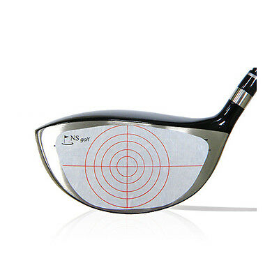Golf Driver Swing Hitting Point Mark Tape Recorder Exact Impact Sticker Label
