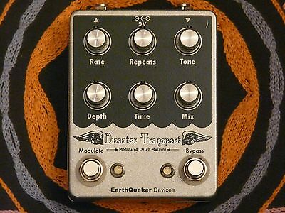 ✰✮✯EarthQuaker Devices Disaster Transport Delay Pedal✯✮✰