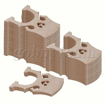 4/4 Burlywood Maple Bridge for Cello Strings Wood Full Size Set of 50